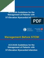Aha Guidelines Stemi