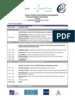Agenda for Knowledge Sharing Event to Facilitate EU Integration for Georgia and Moldova