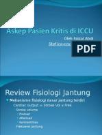 Askep Pasien Kritis di ICCU(gagal jantung+ami)