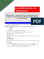 Resolución de Sistemas Mediante Gauss-Seidel