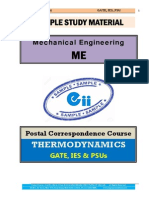 Thermodynamics Mechanical GATE IES PSU Study Material