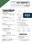 Ecuaciones Cuadridicas III