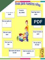 Frases Positivas Para Nuestros Niños