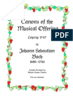Bach Offer Canon