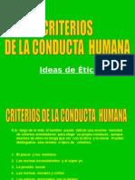 Criterios de La Conducta Humana 100503105525 Phpapp01