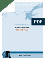 Tito Andronicus William Shakespear