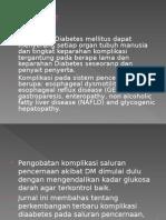 Gastrointestinal Complications of Diabetes Mellitus Bahasa Indonesia