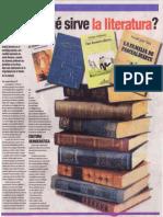 ¿Para qué sirve la literatura?, Goyo Torres