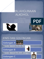 Penyalahgunaan Alkohol