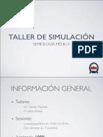 Semiologia General Simulacion