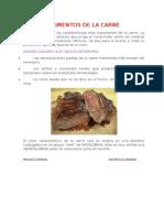 Pigmentos de La Carne