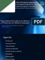 Seguridad Informática en México y Protección en Medios Digitales