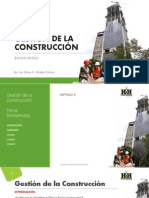 Gestion de la Construcción - Introduccion
