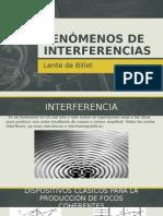 Fenómenos de Interferencias (Lente de Billet)2
