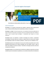 Manual de Registro Dreamspark