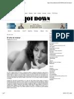 ElArte de Mamar - Jot Down Cultural Magazine