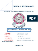Monografia Constitucion Politica Del Peru