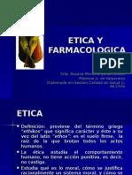 Etica y Farmacologia