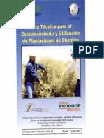 Guía Técnica Para El Establecimiento y Plantación de Chamizo