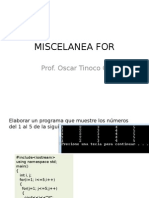Miscelanea For