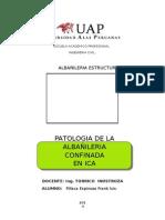 Patologia Muro Confinado