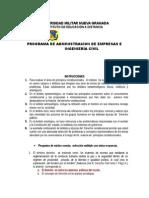 Universidad Militar Nueva Granada Primer Parcial de Pconstitu - Copia