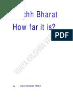 Swachh Bharat - How Far It is ?