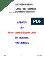 Matrices 2012
