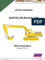 Manual Instalacion Excavadora Pc 210 Komatsu