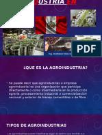 Breve Intriduccion Agroindustria