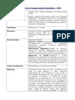 Ficha de Prueba de Comportamiento Matemático Casi Listo