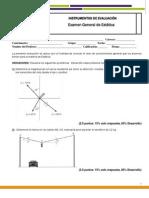 Estatica Examen General