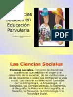 1Las Ciencias Sociales en Educación Parvularia2014