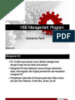 HSE Management Program