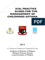 CPG Management of Childhood Asthma (2014)