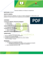 Curso01-La Planeacion Didactica Con Enfoque en Competencias