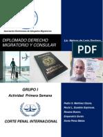 Actividad  Grupo 1 Corte penal Internacional  Diplomado Derecho Migratorio y consular.pdf