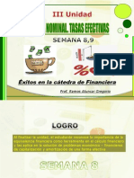 Matematica Financiera i - Unidad III