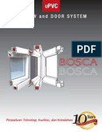 Brochure Bosca UPVC