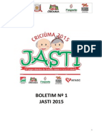 Boletim 01 Jasti 2015 Criciuma Atualizado