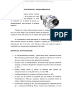 Manual Supercargador Sobrealimentador Funcionamiento Tipos Turbo Turbocompresor
