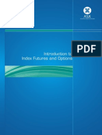 Intro to Index Futures and Options