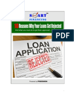 10 Reasons Your Loan is Rejected