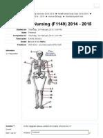 Skeletal system test.pdf