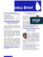 Sri Lanka Brief - Issue 02 Februray 2010