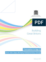 Building Great Britons - 1001 Days Inquiry Report