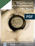 Mapa de La Discriminación Rio Negro