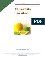 21 Bienfaits Du Citron