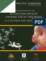 ADHD in Malaysia