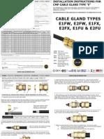 CMP Hazardous E Type Installation Fitting Instructions FI407 Issue 2 0911 2